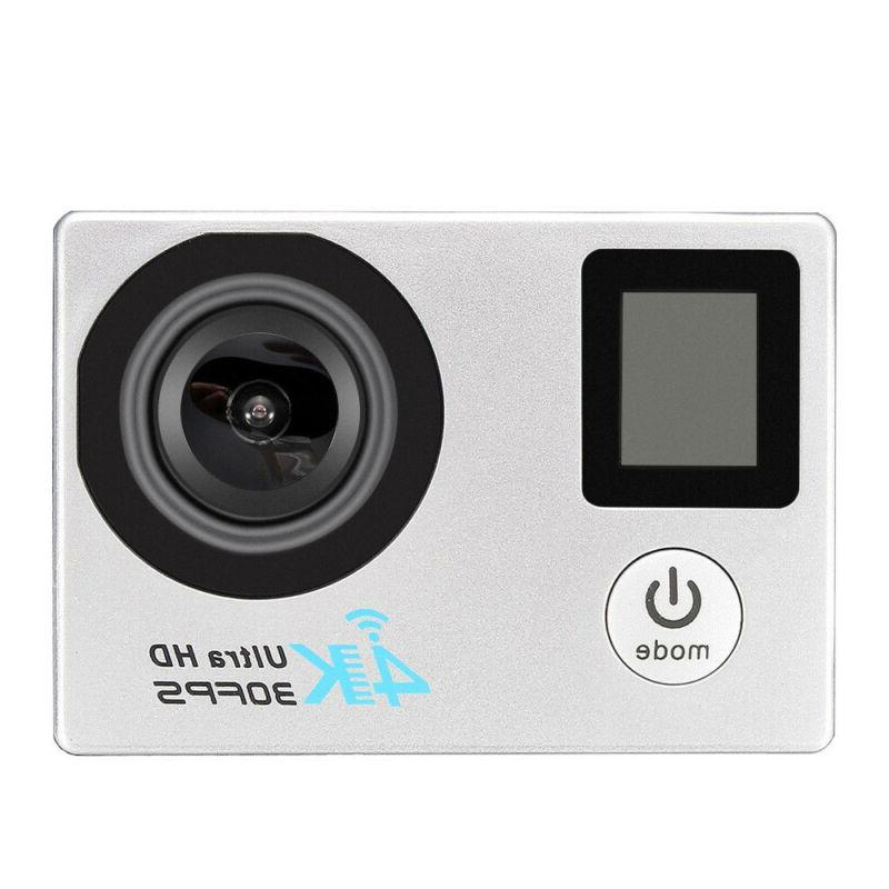 4K Wifi Waterproof Sports Action 16MP Protable Camera Cam Camcorder