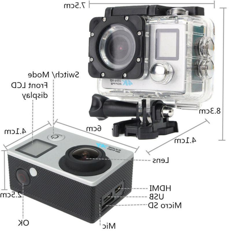 Waterproof Action 16MP Protable DVR Camcorder