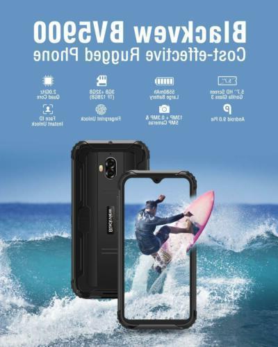 Waterproof 4G Dual SIM 5580mAh