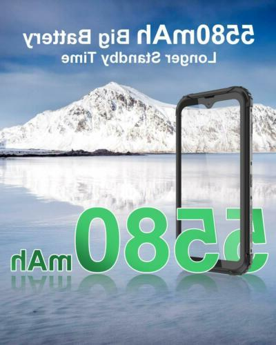 5.7 Blackview Waterproof Smartphone SIM 5580mAh