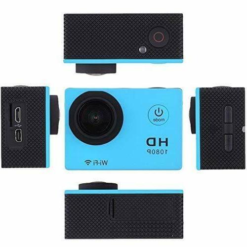 5 Gopro Full HD 1080P Sports Waterproof Camera 12MP Degree