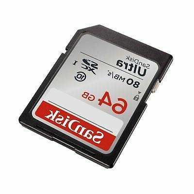 SanDisk Ultra SDXC UHS-I SDSDUNC-064G-GN6IN