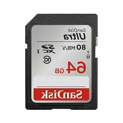 64gb ultra sdxc uhs i memory card