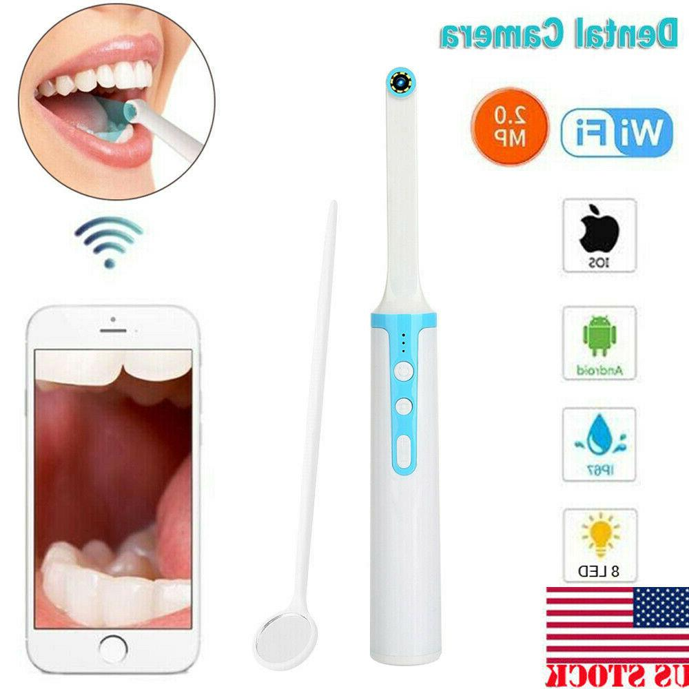 8 led 2 0mp wireless wifi dental