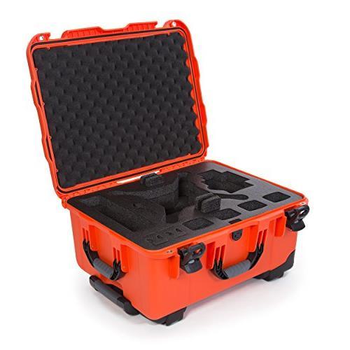 Nanuk 950 Waterproof Hard Case with Wheels and Custom Foam I