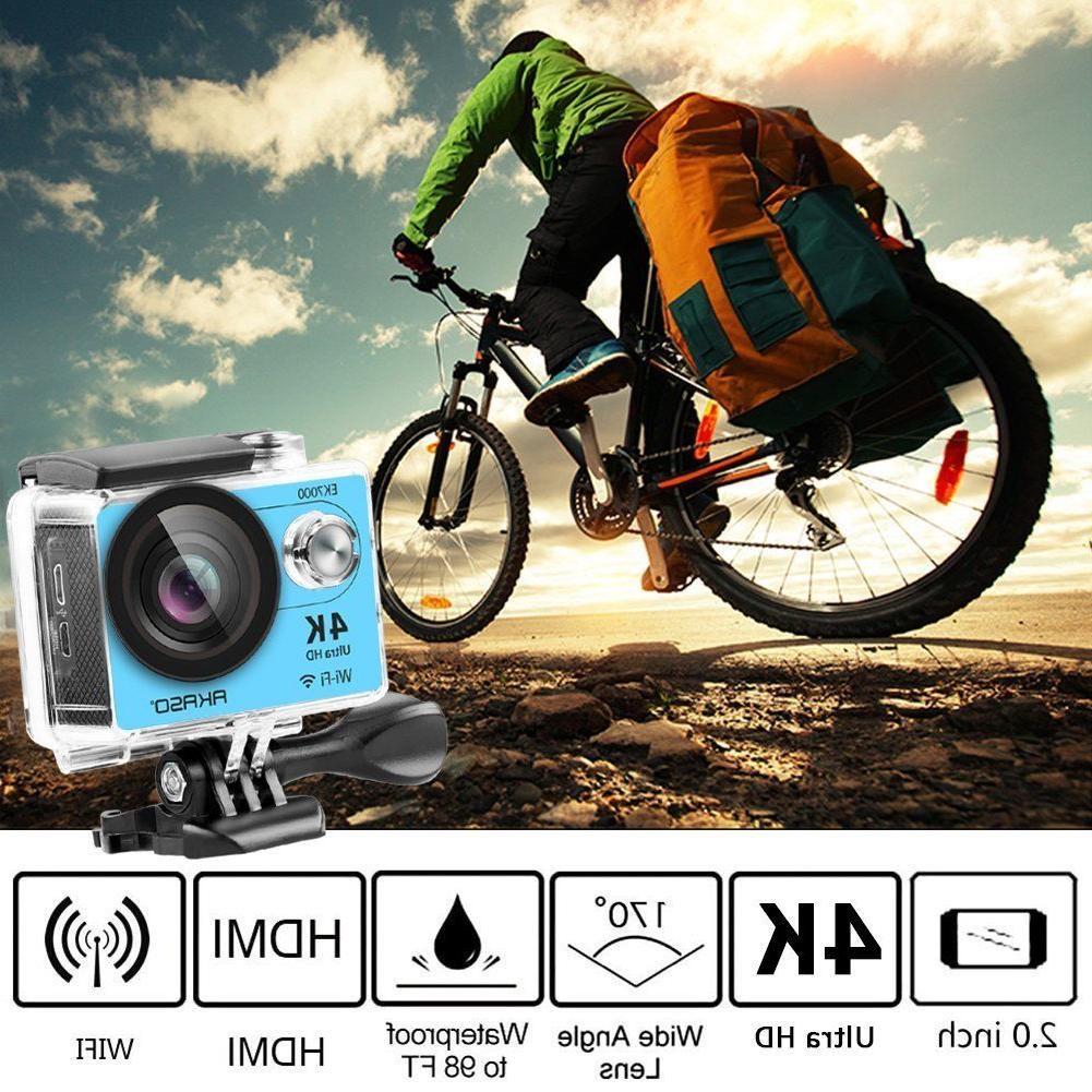 AKASO Sports Action Camera HD 12MP