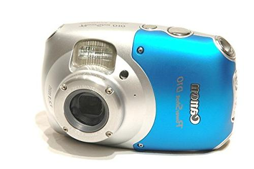 Canon PowerShot D10 MP Digital with 3x Optical Image Stabilized Zoom LCD