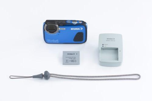 Canon PowerShot Waterproof Digital Camera, Blue