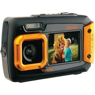 Coleman Duo2 2V9WP-O 20 MP Waterproof Digital Camera with Du