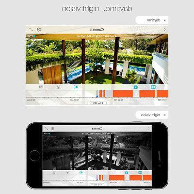 Digoo IP Camera IR Vision Wireless Alarm