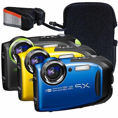 Fujifilm FinePix XP80 Waterproof Digital Camera with 2.7-Inc
