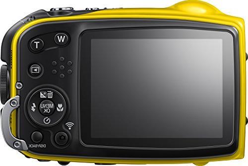 Fujifilm FinePix XP80 Waterproof Digital Camera LCD