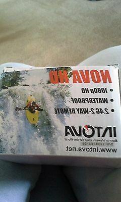 INTOVA NOVA HD Waterproof Camera with Remote 1080P FREE SHIP