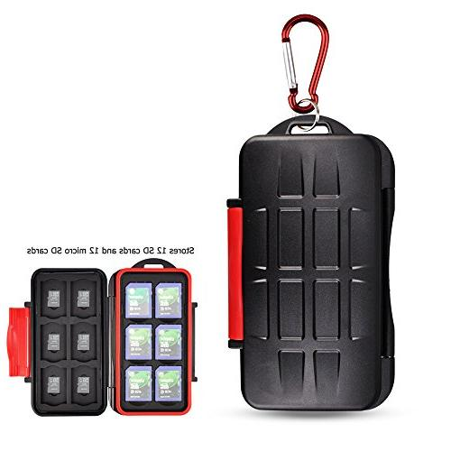 Kiorafoto Professional Water-Resistant Anti-Shock Holder Sto