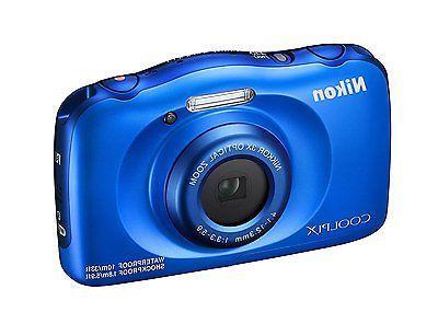 Nikon - 13.2-megapixel Blue