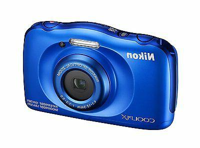 Nikon 13.2-megapixel Digital Camera - Blue
