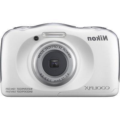 Nikon - W100 13.2-megapixel Digital - White