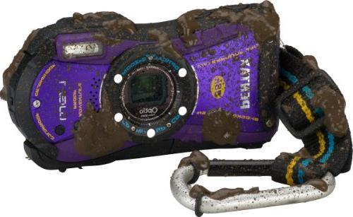 Pentax Optio WG-1 Series Digital Camera Wide-Angle Zoom