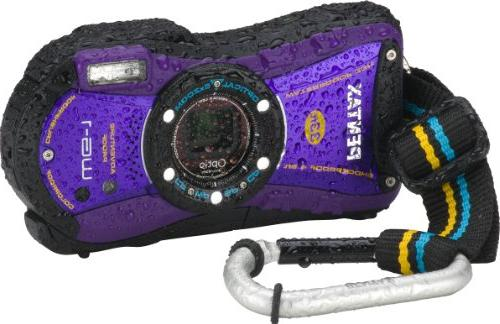 Pentax Optio WG-1 Adventure Series 14 MP Waterproof Digital