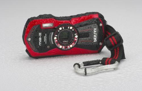 Pentax Optio WG-2 Digital Camera, Vermillion