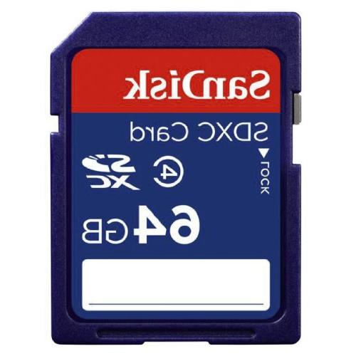SanDisk 64GB Class 4 SDXC Memory Card- SDSDB-064G-B35