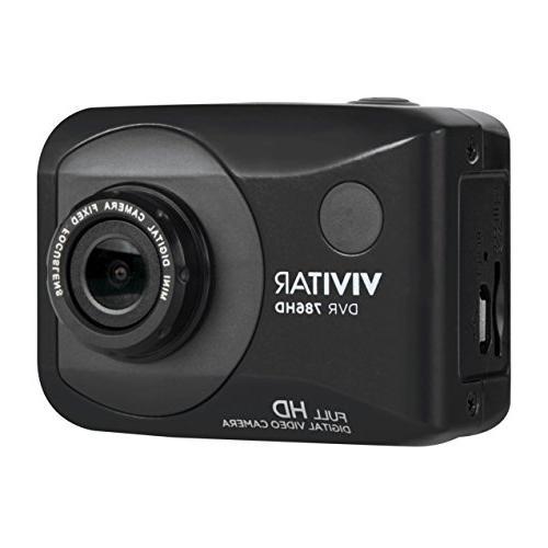 Vivitar Full Action Camera, DVR786HD-BLK