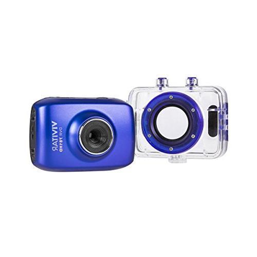 Vivitar HD Action DVR781HD Blue HD Camera