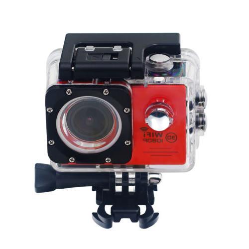 Wifi 1080p HD go Camera Waterproof camera mount