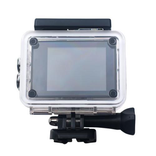 Wifi 1080p go Action Waterproof helmet camera bike mount