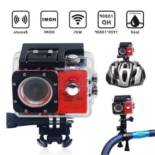 Wifi 1080p HD Sports go Action Camera pro Waterproof helmet