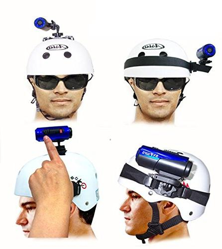 SVP and Stylish looking performance Camera Camcorder- Allow to attach to helmet, motorcycle, surf IT!!!