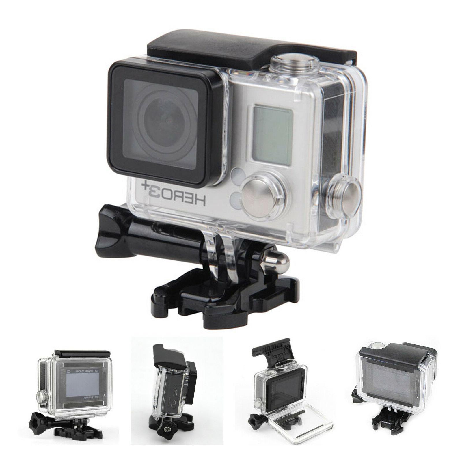 GoPro Hero 3/3+/Hero Underwater Waterproof Dive Housing Transparent