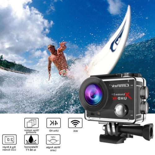 Campark Action FHD 4K Sport Camcorde