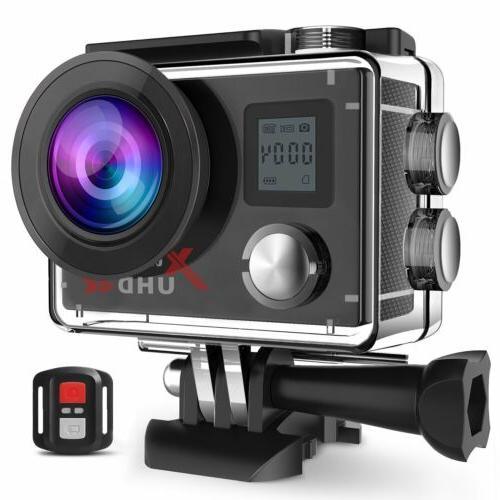 action camera 4k wifi ultra hd sports