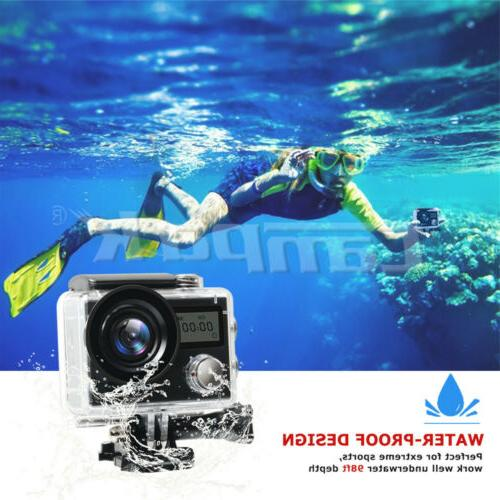 Action Camera Campark HD Cam Touch EIS Waterproof