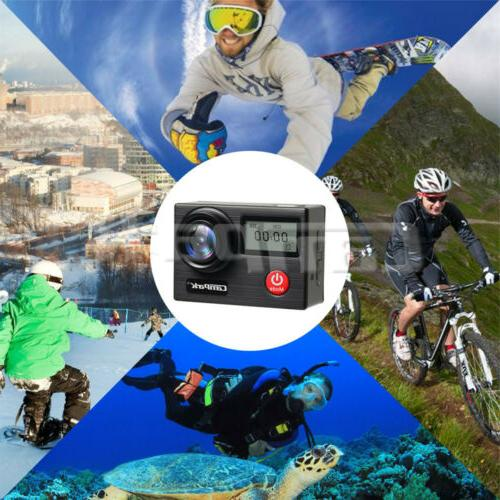 Action HD Sports Cam Touch Screen EIS Waterproof