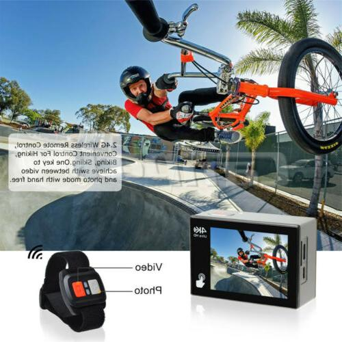 Action Camera X20 HD 4K Touch Screen 20MP EIS