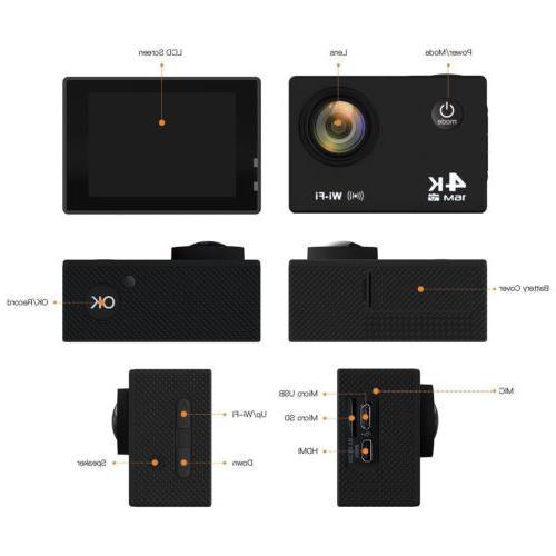 Ultra HD DV 16MP 1080p + Accessory