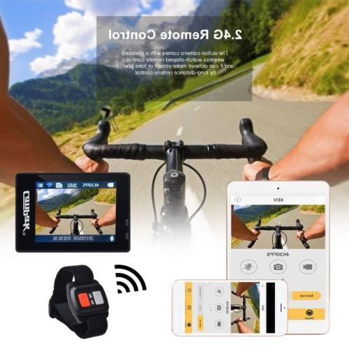 Campark Action WiFi Sports Cam Control