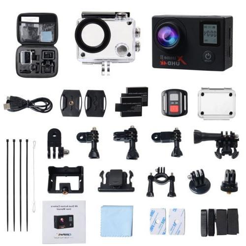 Campark Camera WiFi Cam Waterproof Control