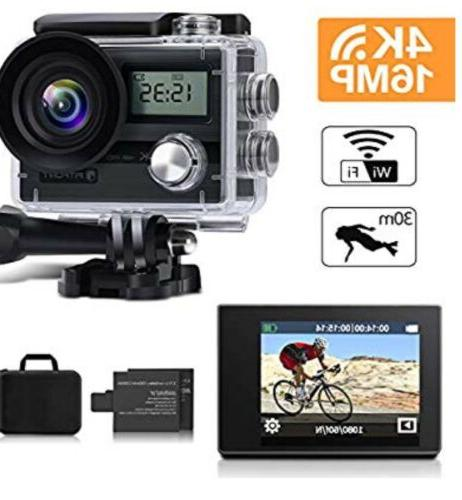 """FITFORT Action Camera Wifi HD Sport 16 MP 170° 2"""""""