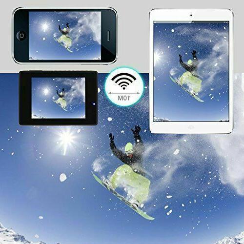 ODRVM Action Camera 4K Wifi Camera Waterproof Sports