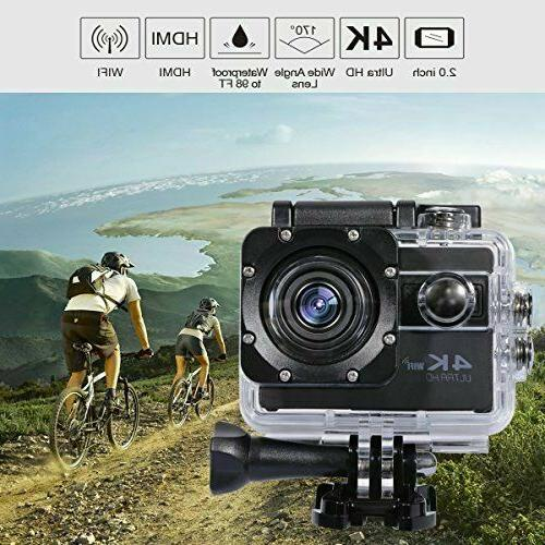 ODRVM Action Camera Wifi Digital Waterproof