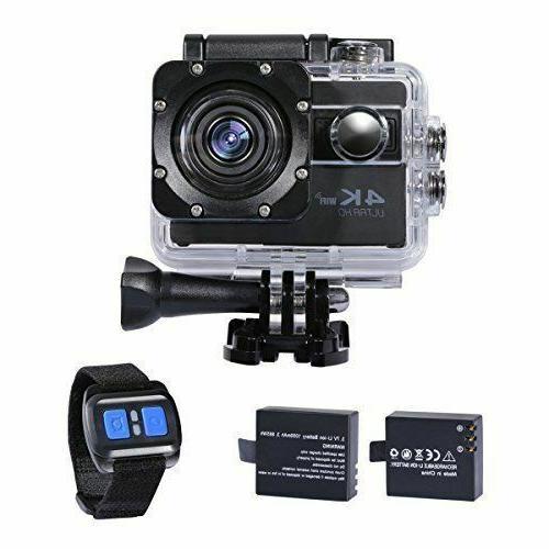 action camera 4k wifi underwater camera digital