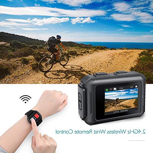Dragon Camera 16MP 131ft Camera 5 View WiFi Sports Camera with Remote