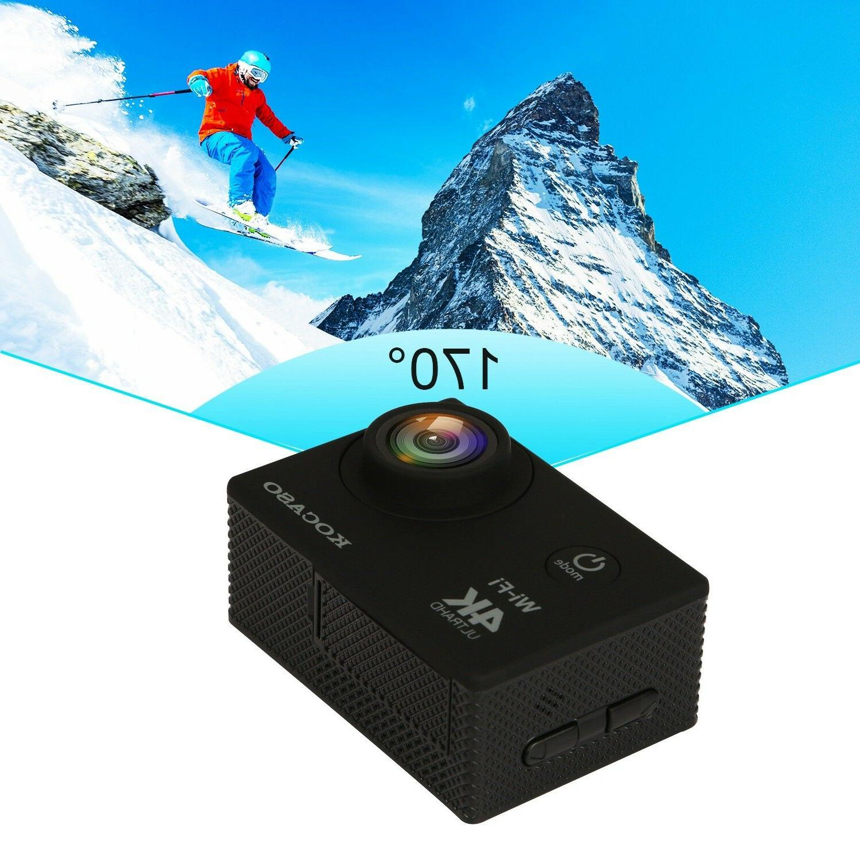 🔥AS Pro Ultra 4K HD 1080P Waterproof Sport Camera Camcorder US