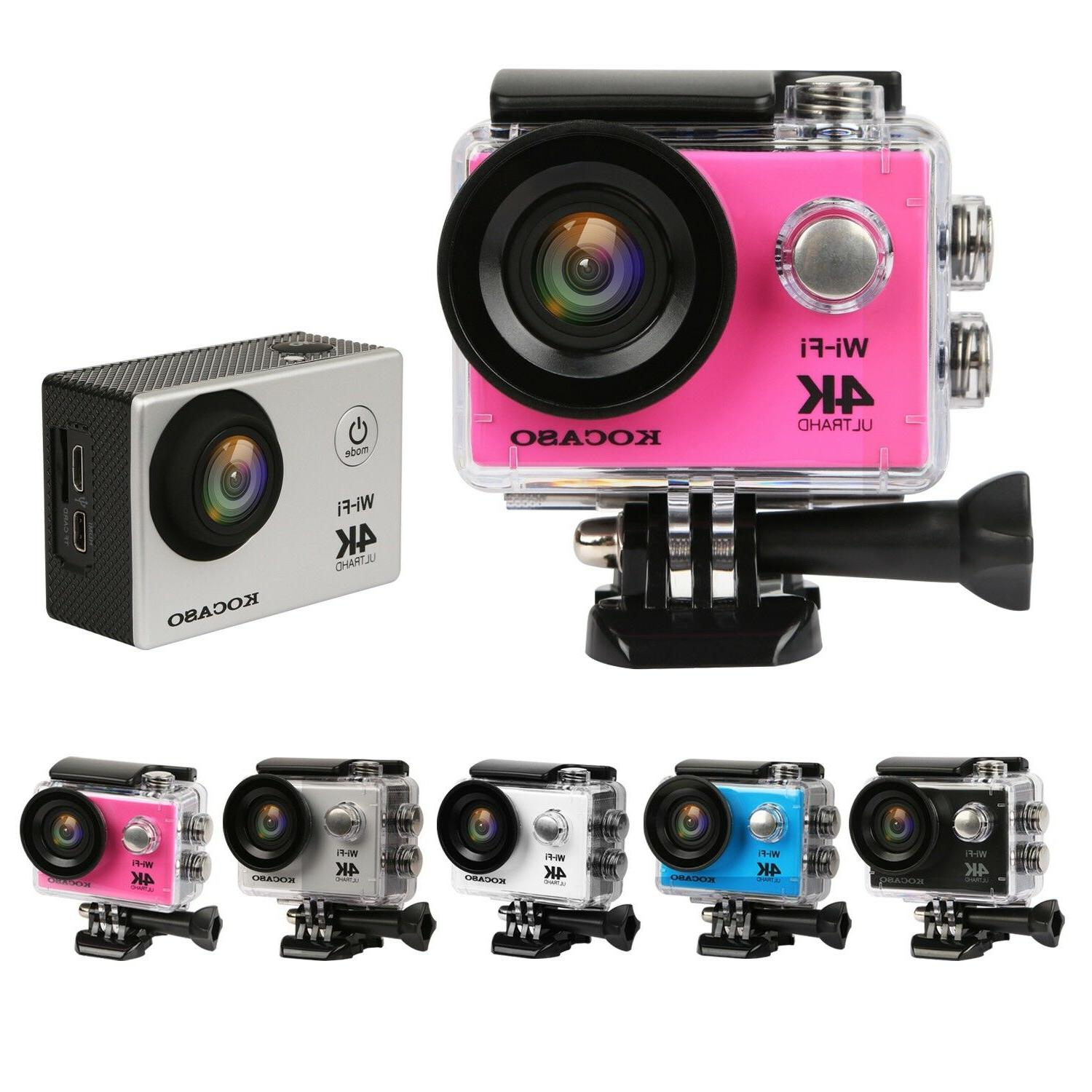 🔥AS Pro HD 1080P WiFi Sport Camera Camcorder