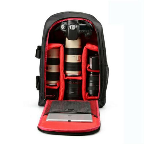 Sturdy Backpack Waterproof Shoulder For Sony EOS US