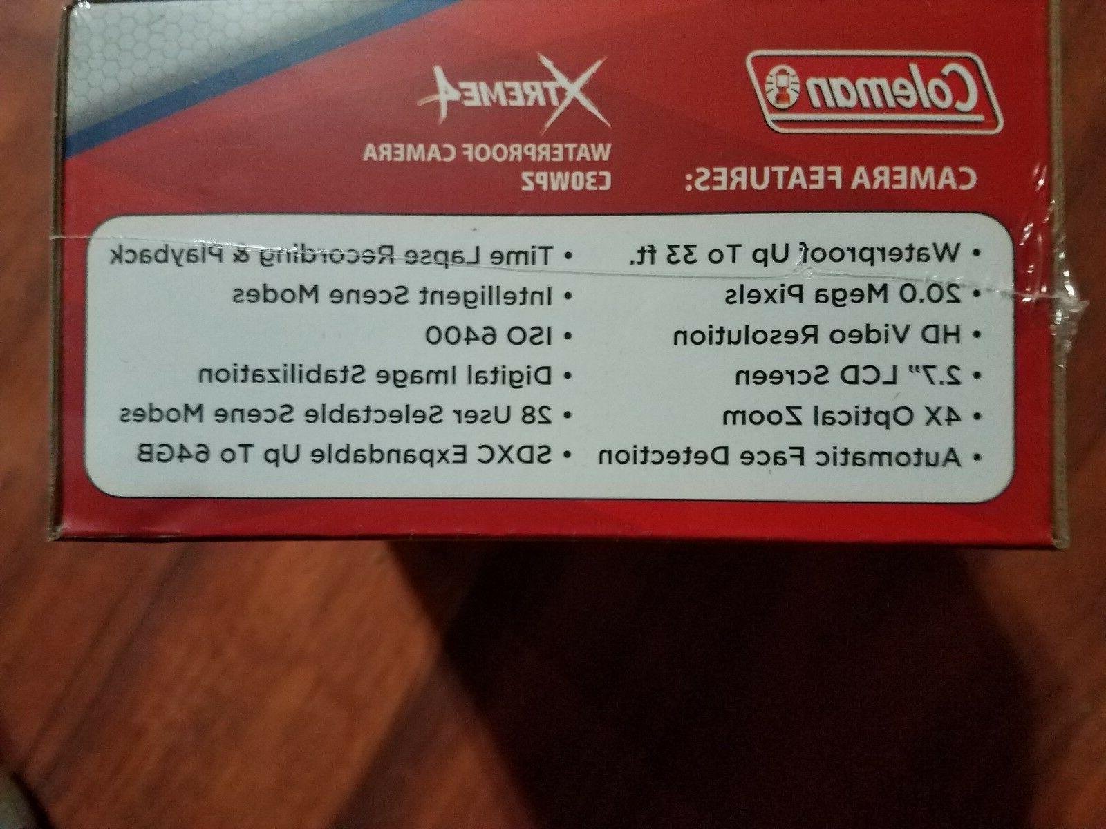 Coleman 20.0-Megapixel Xtreme4 HD Waterproof Camera