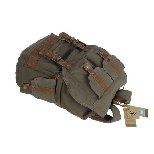 Koolertron Canvas DSLR Camera Rucksack Cover Sony Canon Nikon Olympus